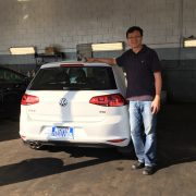 Mr. Li: 2017 Volkswagen Golf Wolfsburg Edition (VIN: 3VW217AU3HM06****)