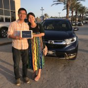 Mr. Wang: 2017 Honda CR-V (VIN: 2HKRW1H82HH5*****)