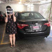 Miss Lin: 2017 Toyota Corolla (VIN: 5YFBURHE9HP6*****)