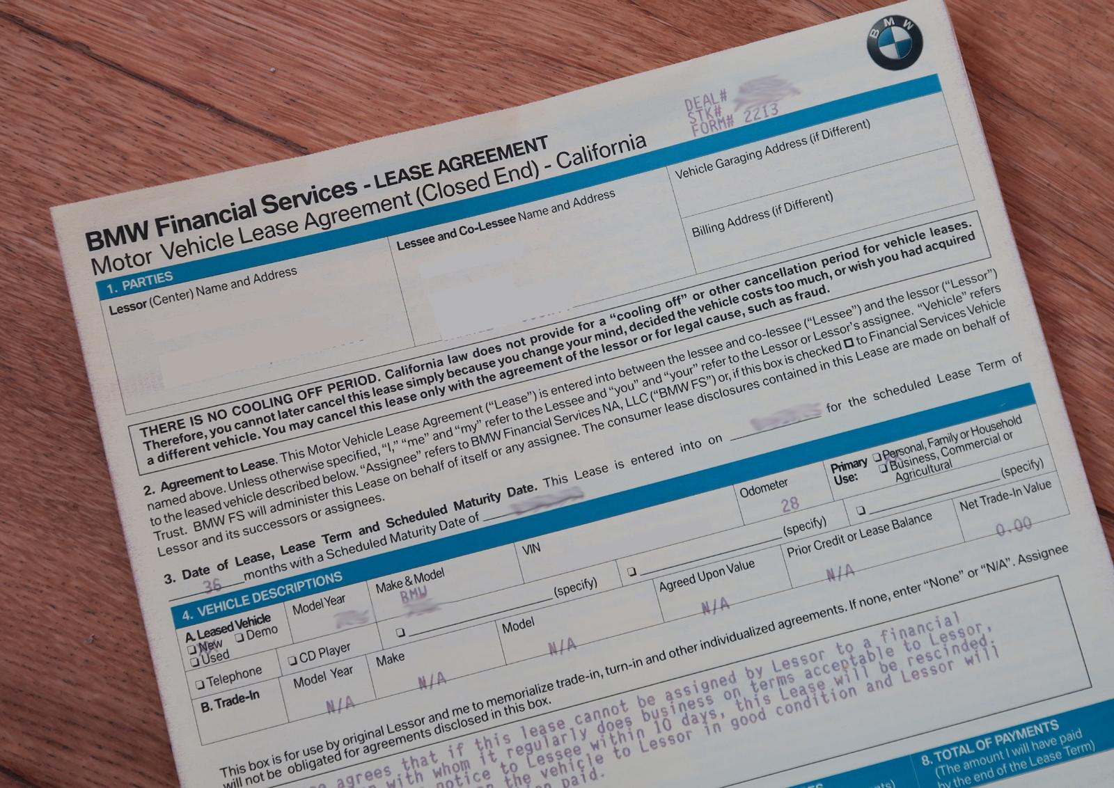 The Ultimate Bmw Buying Guide 6 Leasing Process Youwheel