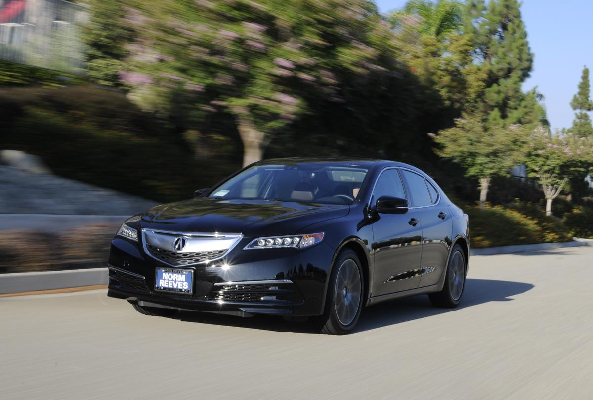 2015 acura tlx 3 5 v6 instrument test youwheel your car expert. Black Bedroom Furniture Sets. Home Design Ideas