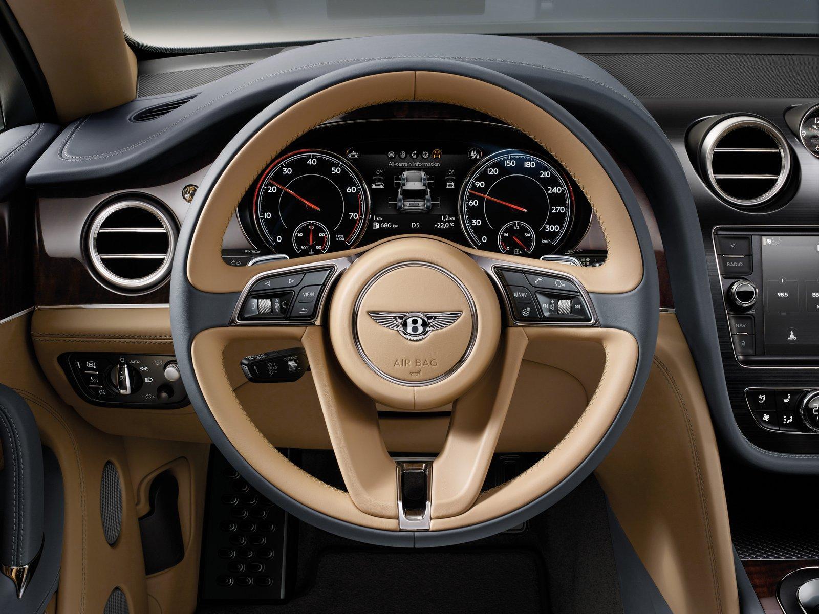 Bentley Bentayga Officially Announced First Suv Model In Bentleys