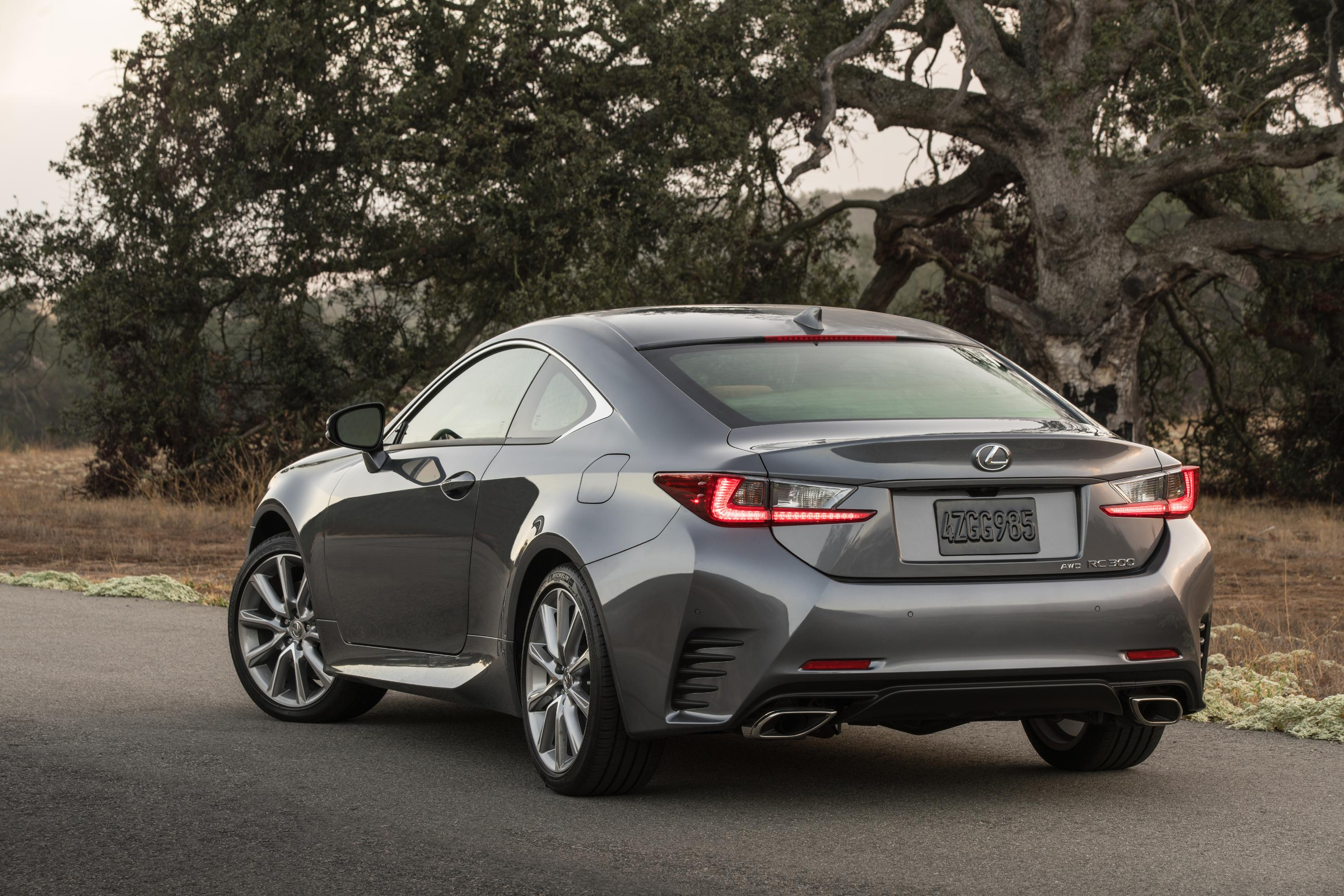 2016 lexus rc coupe announced rc200t and rc300 awd added youwheel your car expert. Black Bedroom Furniture Sets. Home Design Ideas