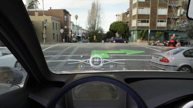 Toyota S 3d Head Up Display Technology Youwheel Your Car Expert