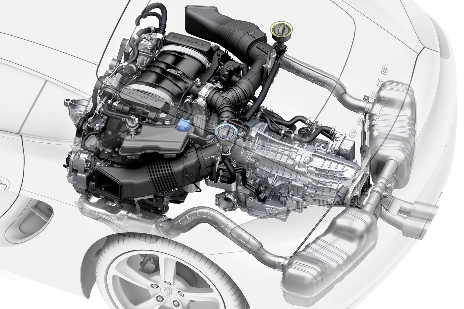 Porsche_Cayman_Engine
