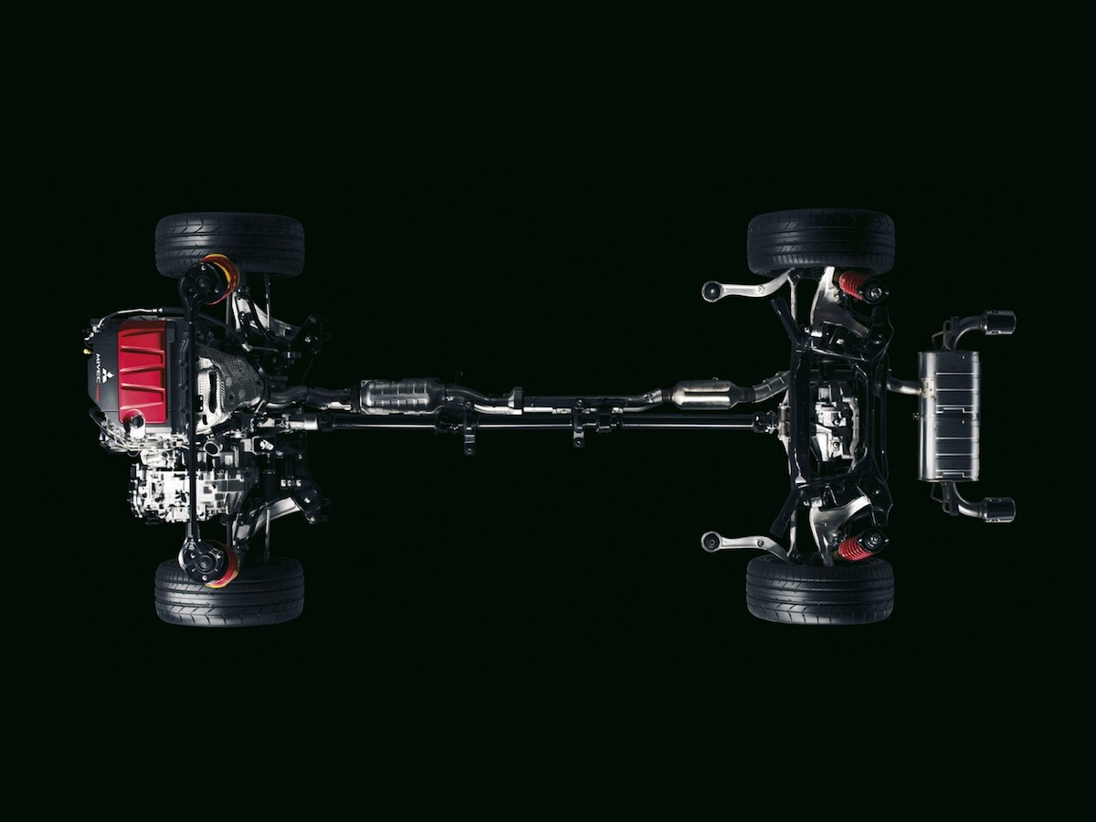 Analysis Awd System Of The Mitsubishi Lancer Evolution X Youwheel Evo Engine Diagram Believe
